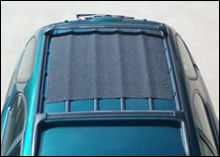 RoofBag car top carrier: protective mat for the roof of the car